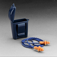 3M ear plugs and case 1120