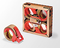 3M Packing tape Pk/4 3750-rd2