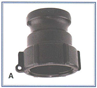 Male Adapter-Female Thread (75A1/4)