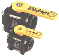 Polypropylene Bolted Ball Valves