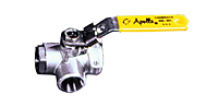 "Apollo 1/2"" 3-Way Ball Valve (APO76-603-01)"