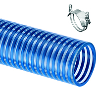Kuriyama Tigerflex Series BW Blue Water Multi-Purpose Low Temperature Suction and Transfer Hose